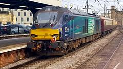 Class 68 At NEWCASTLE (Uktransportvideos82) Tags: drs directrailservices class68 northernbelle newcastleupontyne