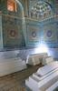 The Blue Mausoleum (peterkelly) Tags: uzbekistan digital canon 6d gadventures centralasiaadventurealmatytotashkent asia samarkand shahizindanecropolis mausoleum blue sunlight sun light sarcophagus window shodimulkoko amirtemur turkonoko sister samarqand
