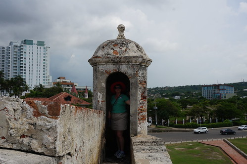"""Part of the 11 Kilometers of Defensive Walls that Protect Old Town Cartagena. • <a style=""""font-size:0.8em;"""" href=""""http://www.flickr.com/photos/28558260@N04/38100174464/"""" target=""""_blank"""">View on Flickr</a>"""
