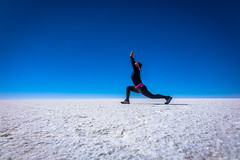 A peaceful place on earth.  Solar de Uyuni.