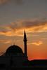 Exotisme - Proche-Orient (.urbanman.) Tags: akko minaret dome mosquée soleil orangé rouge silhouette coucherdesoleil soir soirée saintjeandacre