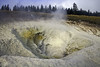 Yellowstone Secrets: a sulfurous mud volcano (Chief Bwana) Tags: wy wyoming yellowstone yellowstonenationalpark nationalparks mudvolcano paintpot thermalfeatures geothermal psa104 uppergeyserbasin pipelinemeadows