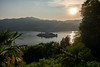 Orta sunset (alain01789) Tags: orta lake lac lago san giulio island isola ile paysage velvia landscape sunset crepuscule dusk