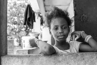Black & White Portrait, The Gambia