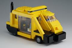 METROKAB_01 (kaba_and_son) Tags: blade runner metro cab lego bladerunner ブレードランナー レゴ メトロキャブ タクシー metrokab