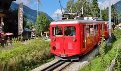 Chamonix, gare du Montenvers (thierry llansades) Tags: chambery chamonix montblanc train tren patrimoine savoie funiculaire rail gare traboules allées 73 74