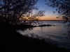 Through the Lacy Trees (melissaenderle) Tags: autumn mendota lake wisconsin sunset