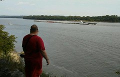 8/20/17 - Cave-In-Rock, IL state park (CubMelodic23) Tags: august 2017 caveinrockil vacation river water ohioriver me dave selfportrait caveinrockstatepark