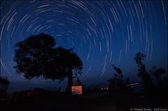 Startrails-1 (toofan.v) Tags: landscape bageshwar sigma1020mm toofan vimaljoshi astrophotography night sky wideangle stars moon chaukori chakori