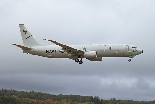 US Navy P8-A Poseidon 168763