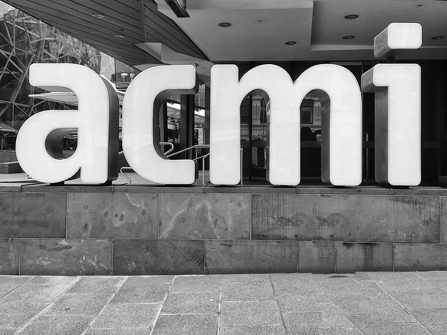 Morning at ACMI
