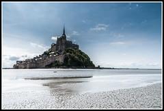 La face cachée du Mont (Guenever45) Tags: montsaintmichel monumenthistorique baie tangue mer baiedumontsaintmichel patrimoine patrimoinemondialunesco ciel normandie abbaye rocher traverséedelabaie