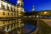 Dresden - Brühlsche Terrasse (II) (FH | Photography) Tags: dresden sachsen deutschland elbe ostdeutschland city wahrzeichen tourismus architektur gebäude licht sehenswürdigkeit unesco brühlscheterrasse hofkirche blauestunde europa historisch weltkulturerbe
