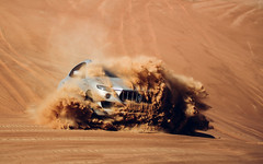 Smashing through the deset. (Alex Penfold) Tags: maserati levante 4x4 suv desert sand uae sharjah car cars autos alex penfold 2017