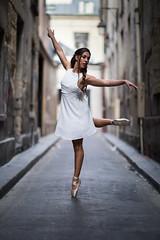 The white dove (Sabrou Yves Photograff) Tags: ballet 85mm12 dance girl paris lauracampino 6d canon
