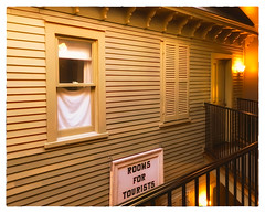 Rooms for Tourists (Timothy Valentine) Tags: shuttered 2017 window sign wednesday vacation ourhotel 1017 northadams massachusetts unitedstates us