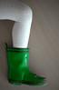 color key boot (dotmatchbox) Tags: stiefel boot gummi rubber green grün color key knee knie bein leg