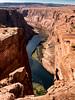 Colorado River (Ramona H) Tags: az coloradoriver horseshoebend page pageaz canyon cliffs river walking water