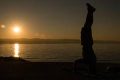 Lovran - Sunrise (rjudak) Tags: sunrise lovran sea water sun siluet