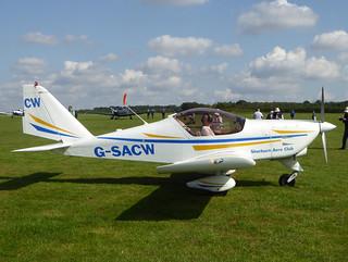 G-SACW Aero AT-3 R100 cn AT3-058 Sywell 02Sep17