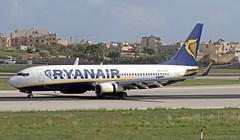 EI-ESP LMML 13-11-2017 (Burmarrad (Mark) Camenzuli) Tags: airline ryanair aircraft boeing 7378as registration eiesp cn 34990 lmml 13112017