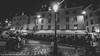 Un nuit a Paris (drjacquebaxter) Tags: paris evening autumn jacquelinebphotografiecouk la place bar streetlight black white moto motorbike