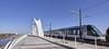 Le tram de Strasbourg passe la frontière sur le Rhin (Emmanuel Cattier -) Tags: strasbourg portdurhin alsace allemagne rhin tram tramway pont frontière paix france