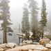 Heather Lake Shrouded in Fog (philia10) Tags: sequoia lake landscape canon70d lightroom