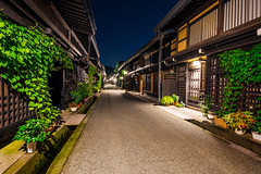 Night street in Takayama, Japan (Picocoon图茧) Tags: night street building classic traditional architecture wooden travel culture trip tour nightview takayama