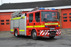 WU54 EJX (Emergency_Vehicles) Tags: wu54ejx dorset wiltshire fire rescue service 107