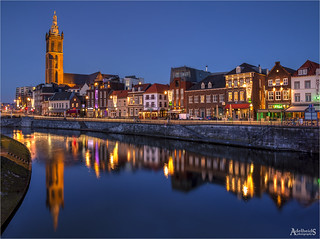 Roermond in Blue