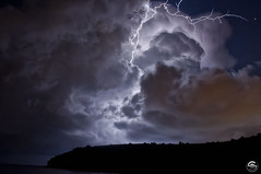 Mystic (Steven Maguire Photography) Tags: lightning lightningbolt thunderstorm italy brucoli night clouds skyscape