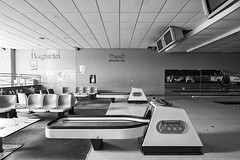You are entering a world of pain (www.MatthewHampshire.com) Tags: bowling mono highkey abandoned