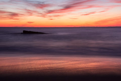 Le naufrage (photosenvrac) Tags: capferret coucherdesoleil gironde mer ocean poselongue blockhaus plage