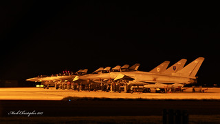 Eurofighter Typhoons at RAF Coningsby
