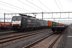 20.11.2017 (I); Actievoerende huurling (chriswesterduin) Tags: rrf railfeeding sbb br189 rastatt containertrein trein train cargo goederentrein maasvlakte