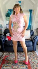 Pink Shoes (Trixy Deans) Tags: tgirl tv transsexual transgendered trixydeans tgirls xdresser crossdresser cd cute crossdressing sexyheels sexylegs sexy hot highheels dress shortdress