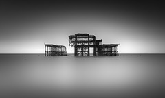 Ruined (TS446Photo) Tags: longexposure monomonday monochrome blackandwhite ruin pier silverefexpro silver exposure formatthitech nd