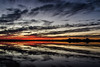 november sunset. marysville, ca. 2015. (eyetwist) Tags: eyetwistkevinballuff sunset clouds california mirrored mirror flooded fields landscape sutterbuttes sky nikon nikond7000 d7000 nikkor capturenx2 eyetwist alienskinexposure exposure alienskin processed photoshop postprocessed postprocessing filter nik colorefex 18200mmf3556gvrii light marysville yuba rice woodruff norcal countryside backlit yubasutter horizon water eco hallwood ricefield field winter cloudporn reflection ripples farm ranch farming agriculture sutter buttes silhouette valley land rural west america yellow orange autumn fall november kimball