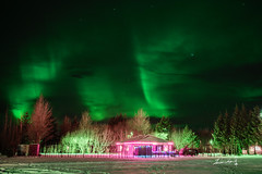 Aurora (Jennifer 真泥佛) Tags: iceland 冰島 自由行 北歐 nikond4s aurora northernlights