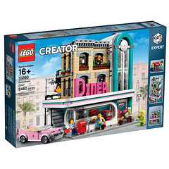 LEGO Creator Expert 10260 - Downtown Diner (THE BRICK TIME Team) Tags: lego brick creator expert 2018 modular downtown diner