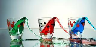 3 shots