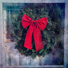 Christmas Wreath ~ Original Poem (Johnrw1491) Tags: tradition bows wreath christmas poem poetry japanese textures art
