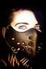 Rhee (andychittock) Tags: portrait fashion beauty mask bondage goth