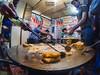 Shahi Chat (soumitra911) Tags: street india food plate bowl dinner cooking drink streetfood bazaar pan chat cutting board tray mixing spatula cusine indore curing sarafa stirring soumitra inamdar
