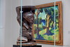 Kunst im Museum (Sockenhummel) Tags: albertinum dresden staatlichekunstsammlungendresden fuji x30 skulptur statue holz bild gemälde museum exhibition ausstellung sculpture painting