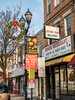 North Bergen Holiday Display, New Jersey (jag9889) Tags: 2017 20171204 architecture banner bergenlineavenue building chinese christmas decoration display gardenstate holiday house hudsoncounty lamppost nj newjersey northbergen ornaments outdoor post restaurant sign signpost storefront text tree usa unitedstates unitedstatesofamerica wreath jag9889 guttenberg newjerseyhc husdoncountynj