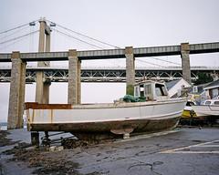 Saltash Passge #4 (@davidflem) Tags: saltash plymouth cornwall devon tamar brunel mamiya mamiya7 65mm kodak portra portra400 120film 6x7 mediumformat istillshootfilm