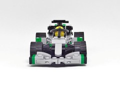 HALO with Mercedes W08 (y.akimeshi) Tags: lego speedchampions racing mercedes amg hamilton formulaone f1 halo