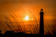 Sunset at CM Lighthouse 3-0 F LR 6-16-17 J268 (sunspotimages) Tags: sunsetssunrises sunrise sunset sunrisesunset building architecture lighthouse seascape landscape newjersey capemaynewjersey capemaylighthouse capemay capemaynj cape may